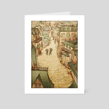 Cobblestones - Art Card by Kristin Kemper