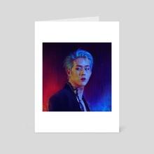 Lee Jooheon - 2020 - Art Card by Monz