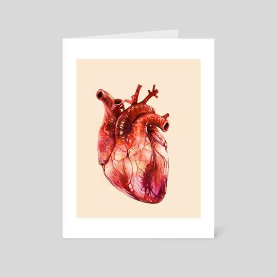 Heart Study by Morgan Davidson