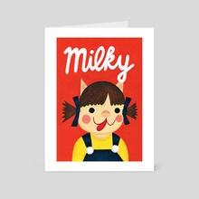 Neko Peko-chan - Art Card by Nellie Le