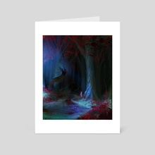 Ghost - Art Card by LS Drake