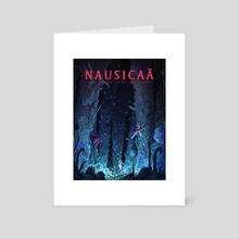 Ghibli - Nausicaa - Art Card by spiridt