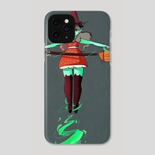 Witch - Phone Case by Ophélie Cohen