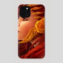 Phoenix Valkyrie - Phone Case by Ataraxicare