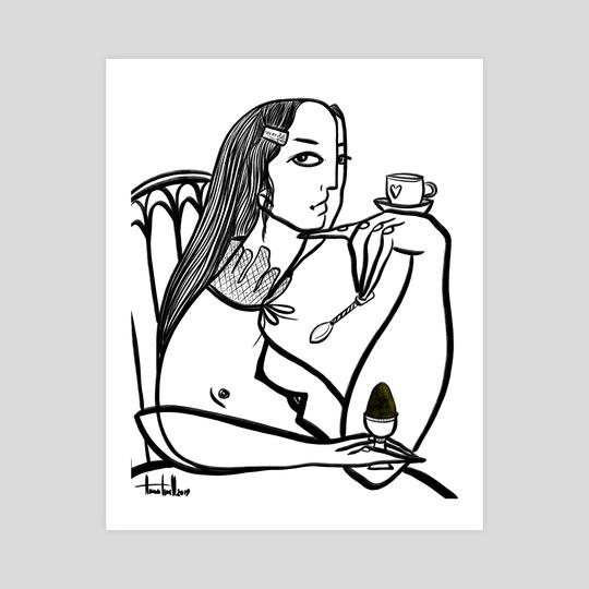 Saturday breakfast by Anna Tsvell