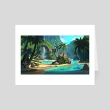 Tropical Environment - Art Card by Yog Joshi