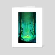Rapier Forest - Art Card by David Escobedo