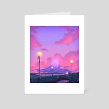 Journey - Art Card by Matthew Tran