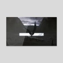 Valkyrie - Acrylic by Kuldar Leement