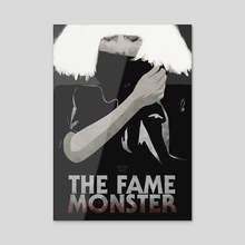 The Fame Monster - Acrylic by Ryan Ripley