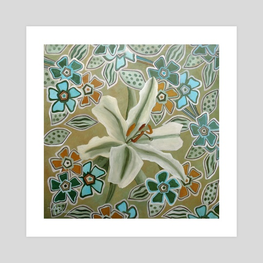 Flower Tessellation by Angeles M. Pomata