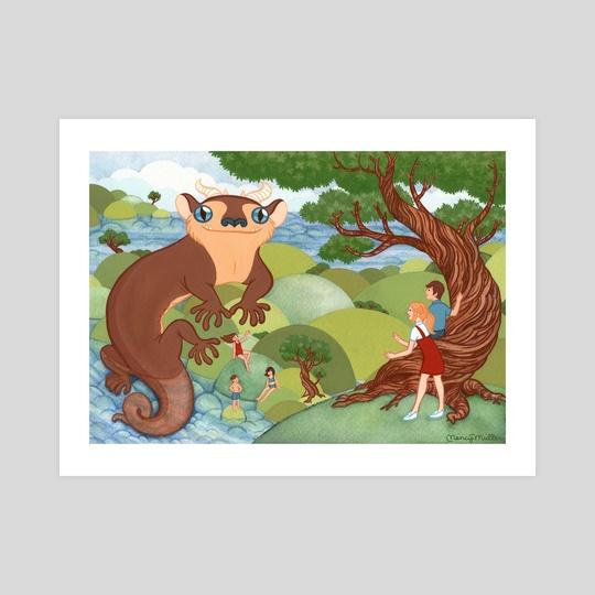 King of Newts by Nancy Muller