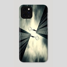 Symmetric inquisition - Phone Case by Eugene Soloviev