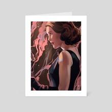 Midge - Art Card by miriam