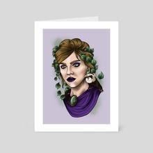 Natural Queen - Art Card by Dani Gallogly