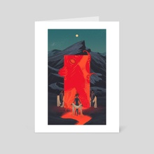 Typhon - Art Card by Taychin Dunn