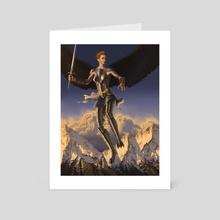 Guardian - Art Card by Ben Yu