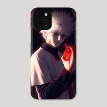 Killua Zoldyck - Phone Case by Camila Breda