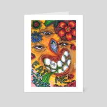 EAT ME - Art Card by Allie