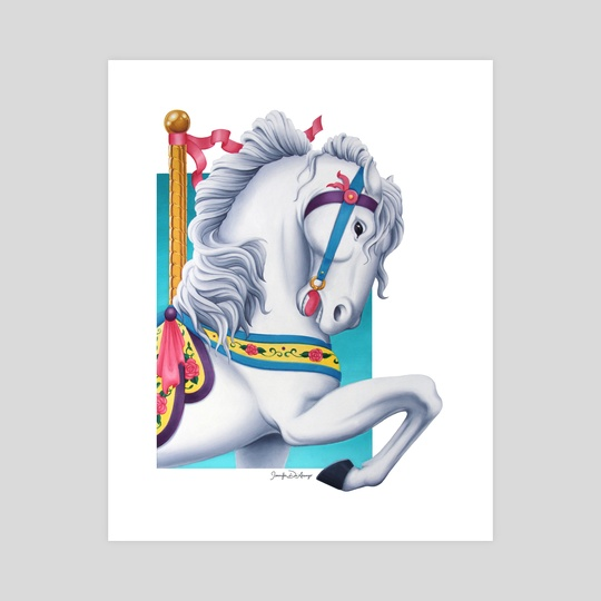 Carousel Horse by Jennifer DiArenzo