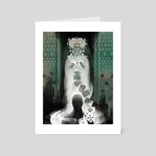 The Queen of Spades and other stories Gost - Art Card by Anna and Elena Balbusso Twins