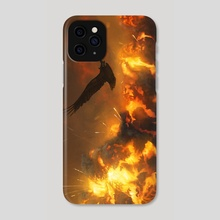 The War Bird - Phone Case by Holly Humphries