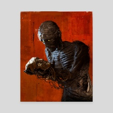A Sad Reflection - Canvas by DAMNENGINE