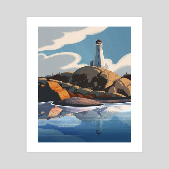 Peggy's Cove by David Yu