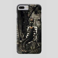 Disfrutando del silencio - Phone Case by Laura Nagel