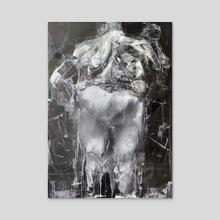 Black - Acrylic by Tomasz Szkodzinski