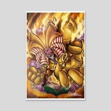 Exodia the Forbidden Toon - Acrylic by Kraus Arts