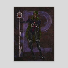 Sailor Pluto - Canvas by Odera Igbokwe