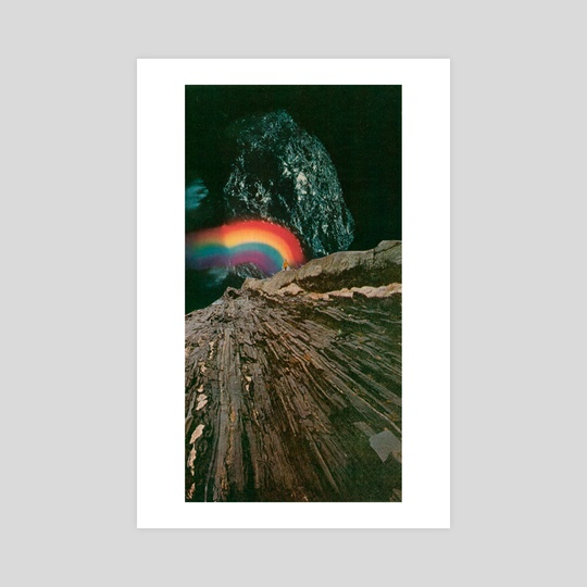 Rainbow At The Center Of Earth by jesse treece