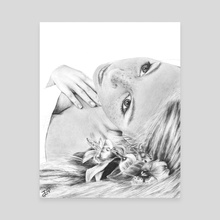 Flower Girl - Canvas by WickedIllusion