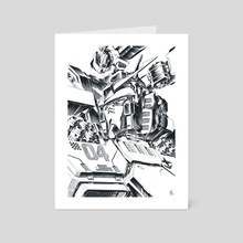 Gundam Thunderbolt - Art Card by Chris
