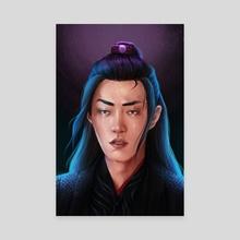 Wei Wuxian - Canvas by Adrienn Czene