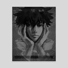 megumi - Canvas by lekkiti