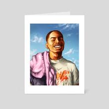 KeepSmiling - Art Card by krazed kai