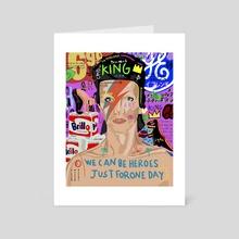 david - Art Card by Catalina Butti
