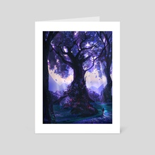 Mother Tree - Art Card by Sam Lee