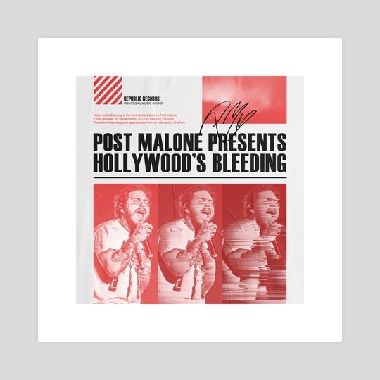 Hollywood's Bleeding (Post Malone) by Joeri van Orsouw