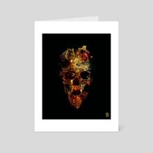 Tradition VS Technology III - Art Card by Billelis