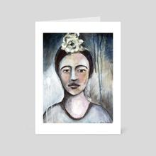 Frida  - Art Card by Maureen Nadeau