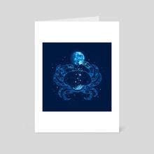 Sweet Moon - Art Card by Enkel Dika