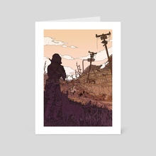 +25 Carry Weight - Art Card by Kim Hu