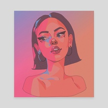Maggie I - Canvas by Layana Cmt