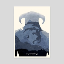 Skyrim - Canvas by Ryan Ripley