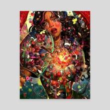 Saturnina - Canvas by Eunpyon