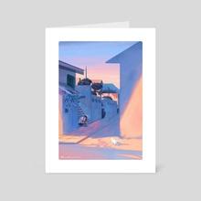 Hoooman, you're finally home!  </3 - Art Card by Yogi Fahmi Riandito