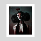 The Unforgettable Ms. Redtree - Art Print by Matthew Clonch